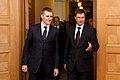Melnkalnes premjera un Ministru prezidenta Valda Dombrovska tikšanās 31.08.2011. (6099392900).jpg