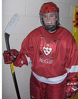 Mélodie Daoust Canadian ice hockey player