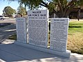 Memorial stone at Roswell Airport Terminal - panoramio.jpg