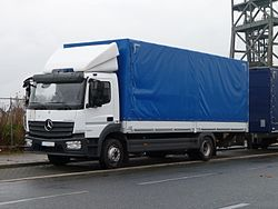 Mercedes Atego Modell 2013 / 2. Generation