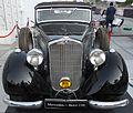 Mercedes Benz 230 (Front) displayed at ADIPEC 2013.JPG