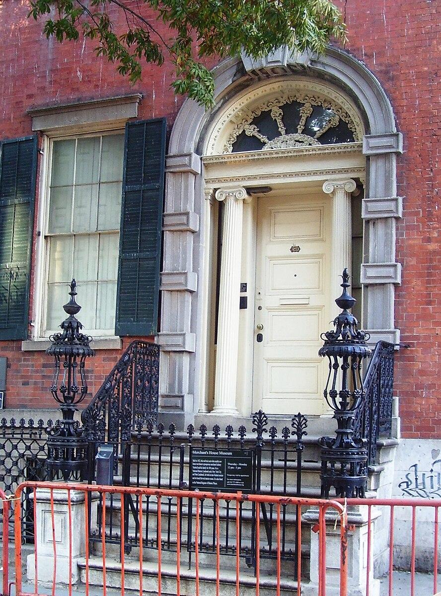 Merchant House Museum Entrance
