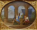 Mercury Transforming Chelone into a Turtle, by Filippo Lauri, Rome, c. 1671, oil on canvas - Blanton Museum of Art - Austin, Texas - DSC07851.jpg