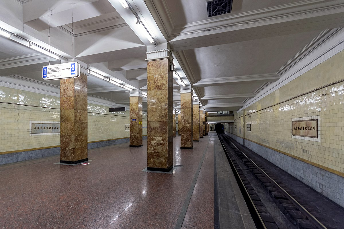The design of the metro station Tulskaya in Moscow won the project Harmon 59