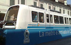 AnsaldoBreda Driverless Metro - Brescia Metro unit