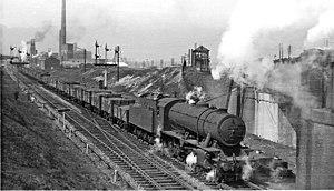 Mexborough railway station - Mexborough West Junction in 1950