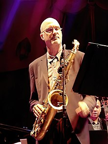 Michael Brecker a Munic el 2001