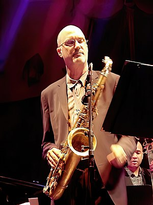 Michael Brecker - Brecker in Munich, July 2001