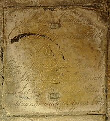 Grab Carl Philipp Emanuel Bach in der Krypta der Sankt Michaelis-Kirche (Quelle: Wikimedia)