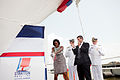 Michelle Obama christens the USCGC Stratton.jpg