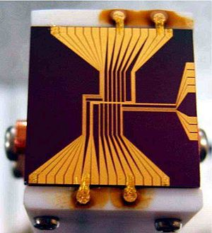 Institute for Laser Science - Microchip atomic trap
