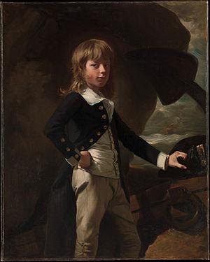 1782 in art - John Singleton Copley – Midshipman Augustus Brine