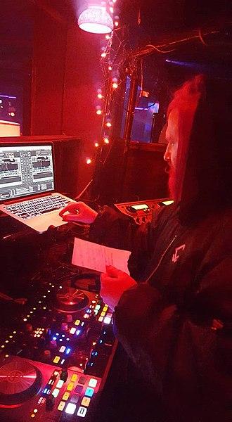 Phantasy Theater - Angela Rarsheid captures DJ Textbeak spinning at The Chamber, Phantasy Entertainment Complex, 2016