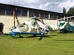 Mil Mi-24 at Central Air Force Museum pic4.JPG