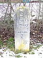 Milestone, Whiteparish - geograph.org.uk - 1659109.jpg