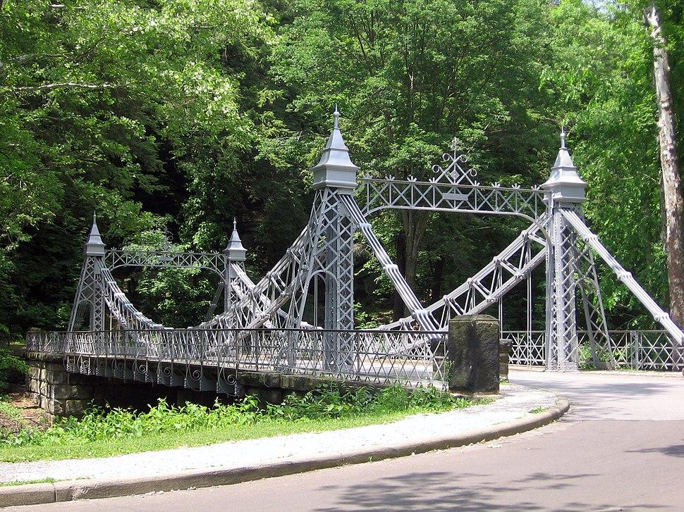 Mill Creek Park Suspension Bridge