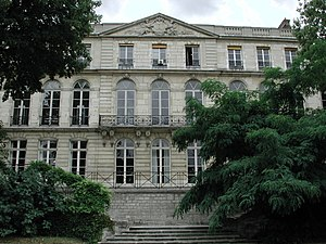 Mines ParisTech - The Hôtel de Vendôme, central building of Mines ParisTech