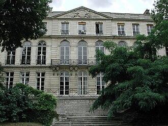 Mines ParisTech - The Hôtel de Vendôme, central building of Mines ParisTech