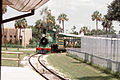 Miniature train at Busch Gardens, Tampa, Florida, 1972 (2 of 2).jpg