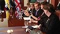 Ministro británico de Estado, Jeremy Browne, se reúne con Canciller encargado, Kintto Lucas de Ecuador (5974847496).jpg