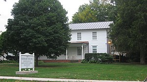 Kappa Kappa Gamma - The Minnie Stewart House in Monmouth, where the sorority was founded