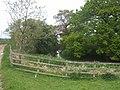 Moated farm near Middle Morrey Farm - geograph.org.uk - 1296419.jpg