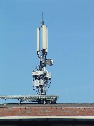 Land station - Image: Mobilfunk Basisstation