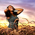 Model in Field during Sunset.jpg