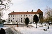 Mogilno klasztor od wsch