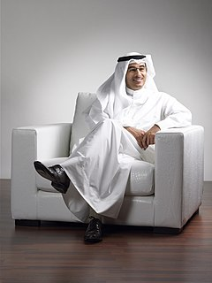 Mohamed Alabbar businessman in the real estate and property development industry of the United Arab Emirates
