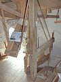 Molen De Prins van Oranje, Bredevoort maalkoppel opengelegd maalbak.jpg