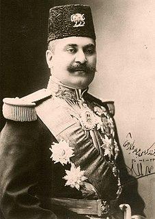 Samad Khan Momtaz os-Saltaneh Iranian diplomat and politician