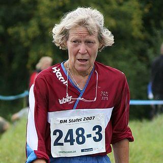 Mona Nørgaard Danish orienteering competitor