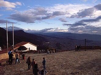 Monserrate - Image: Monserrate Bogotá