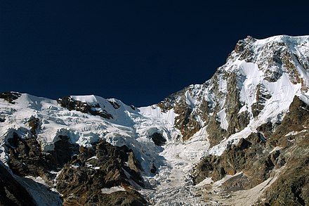 Monte Rosa, Italy Monte Rosa East Wall.jpg