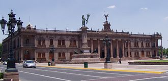 Nuevo León - The original Government Palace (State House) of Nuevo León