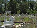 Montgomery Hill Baptist Church cemetery June 2013.jpg