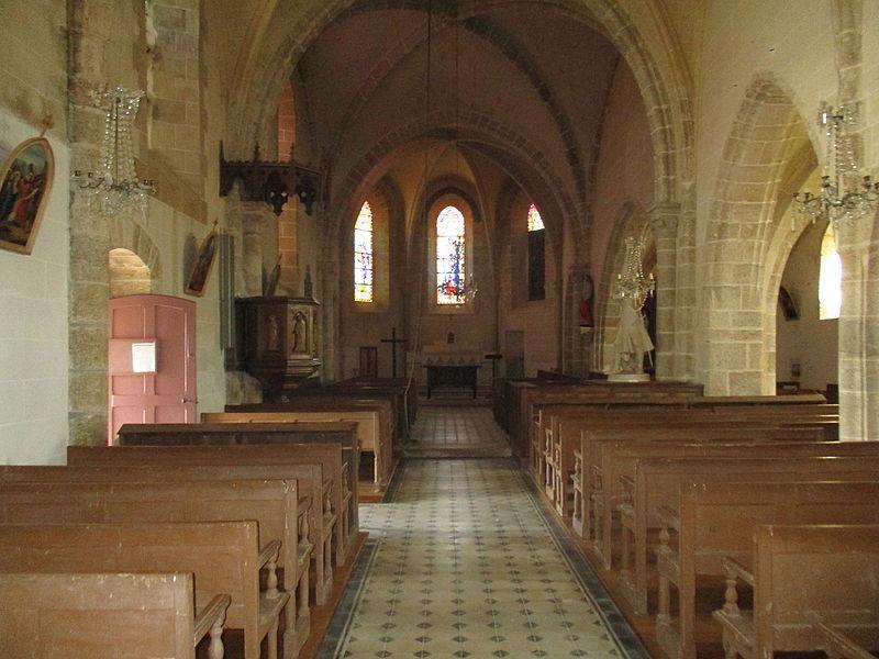 Eglise Notre-Dame de Montliard, intérieur.