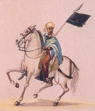 Pancho Fierro - Image: Montoneroperuano