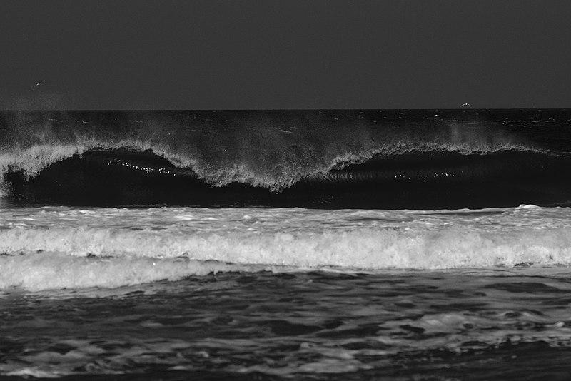 Praia de surfistas em Punta del Este