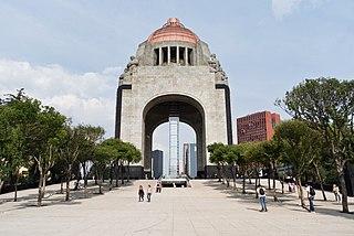 Monumento a la Revolución Mexico City monument