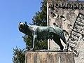 Monumento ai caduti 3, all'esterno del cimitero monumentale di Massa Lombarda.jpg