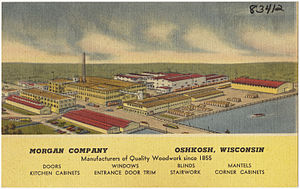 Jeld-Wen - Image: Morgan Company, Oshkosh, Wisconsin, manufacturers of quality woodwork since 1855