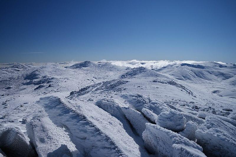 Mount Kosciuszko in Winter