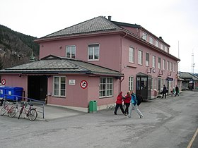 image illustrative de l'article Gare de Mosjøen