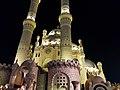 Mosque in Sharm El Sheikh, Egypt Night picture.jpg
