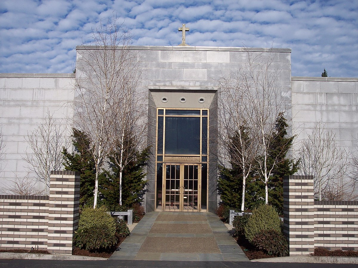 St Mary Of The Mount >> Mount Calvary Cemetery (Portland, Oregon) - Wikipedia