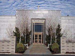 Mount Calvary Cemetery (Portland, Oregon) - Mount Calvary Mausoleum in Mount Calvary Cemetery
