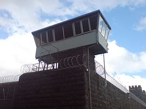 A watchtower at the northeastern corner of Mou...