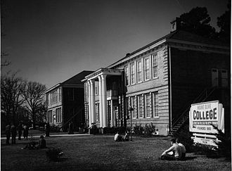 University of Mount Olive - First campus building in Mount Olive, North Carolina.